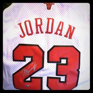 Signed Michael Jordan Jersey